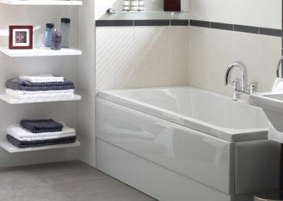 Instalace koupelnového vybavení, sanity